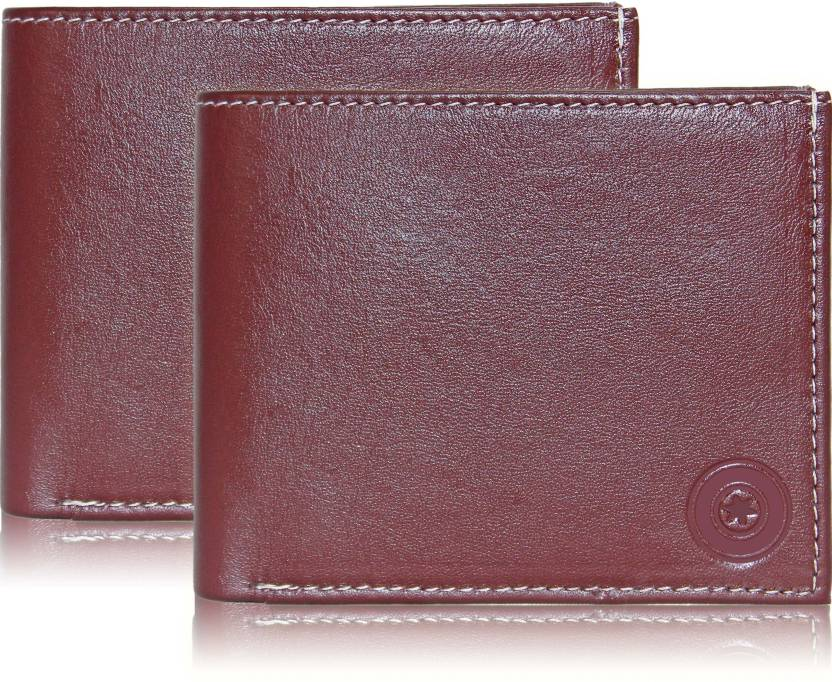 674634d6ebfd POLLSTAR Men Brown Genuine Leather Wallet Brown - Price in India ...
