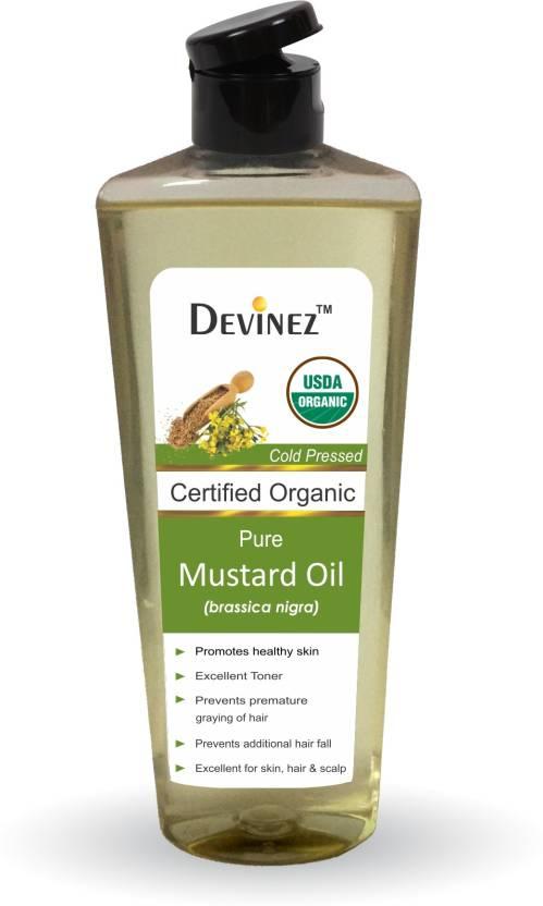 Devinez Mustard Oil - 100% Pure & Organic, Natural