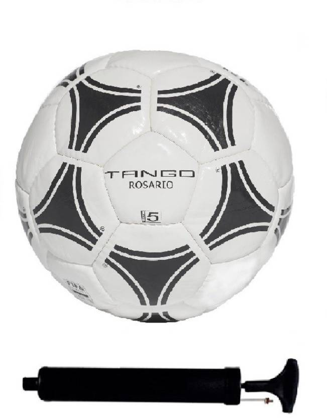 Tango Rosario Training Football Size 5 WhiteBlack