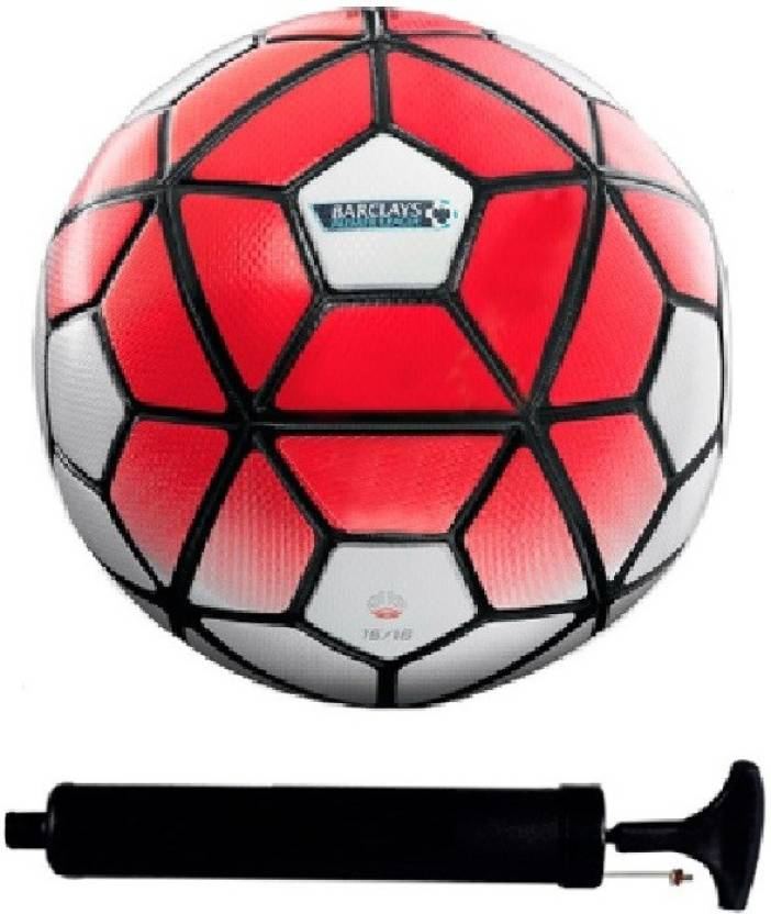 03d305c01 AkshMall Kit of Barclays Red White Football (Size-5) with Air Pump   Needle  Football Kit - Buy AkshMall Kit of Barclays Red White Football (Size-5)  with Air ...
