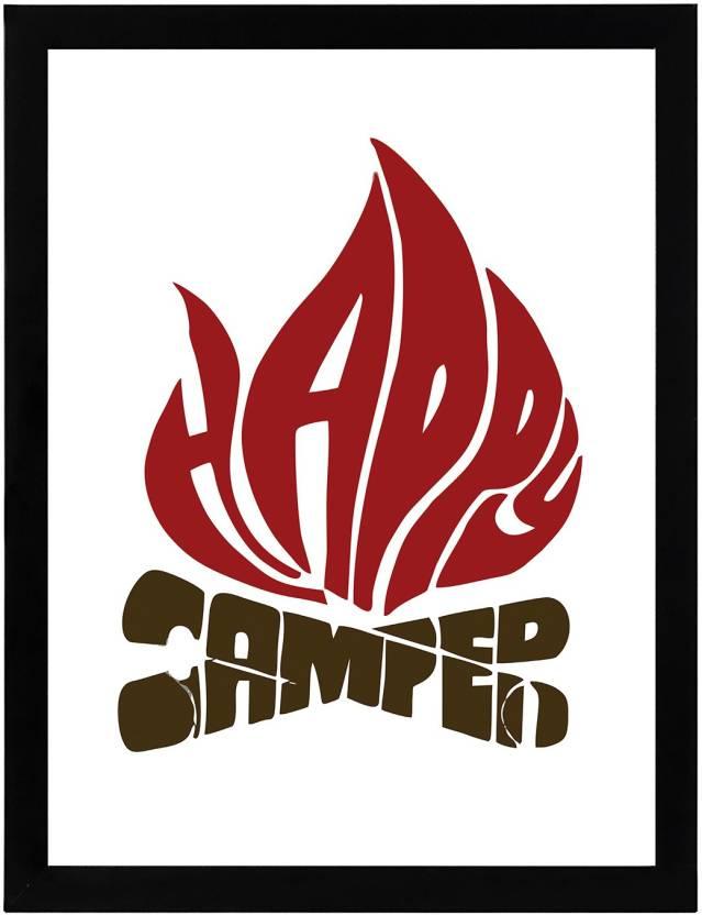 Happy champer |Framed Wall Hanging Motivational Art Print