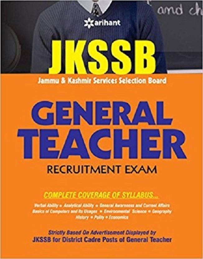 JKSSB General Teacher Recruitment Exam