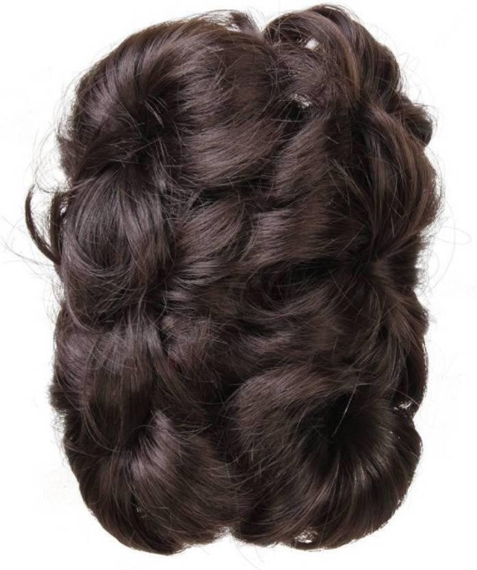 Kashqueen Funky Cluther Hair Bun Brown Braid Extension Price In