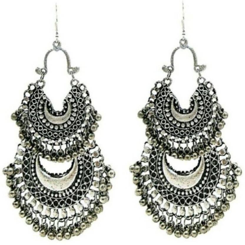 Renaissance Traders Women Earrings Las Trendy For S Alloy Chandbali Earring