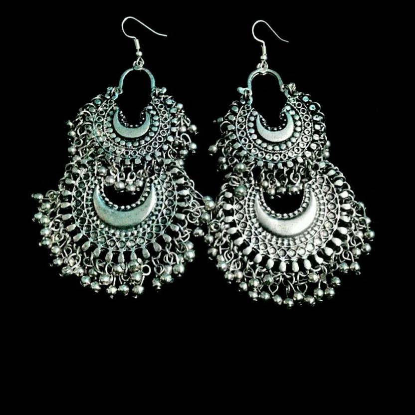 c5f4004c2 Flipkart.com - Buy Renaissance Traders Women Earrings | Ladies Earrings |  Trendy Earrings for Girls Alloy Earring Set Online at Best Prices in India