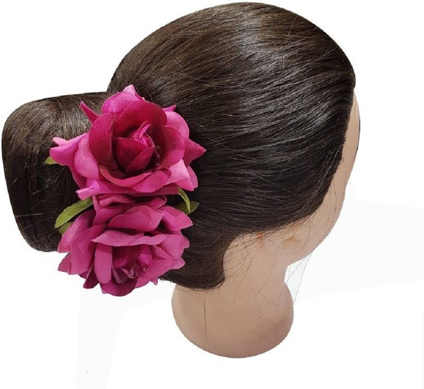 Confidence Flower Hair Clips Pins For Party Wear Girls Accessories