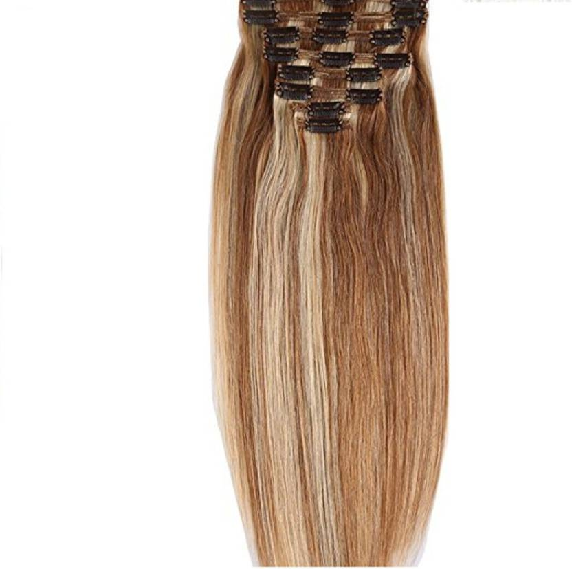 Confidence Real Human Clip On Extensions 8 Pcs 120 Grams Super Easy