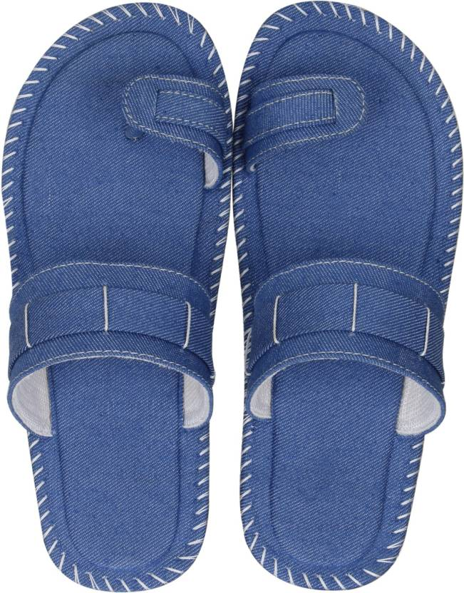 aba5f75d43a8 Kraasa Men Blue Sandals - Buy Kraasa Men Blue Sandals Online at Best Price  - Shop Online for Footwears in India