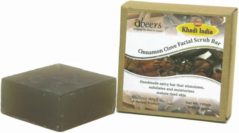 Khadi Abeers Cinnamon Clove Luxury Soap 120gm Freeshipping pack Of 2 Pcs