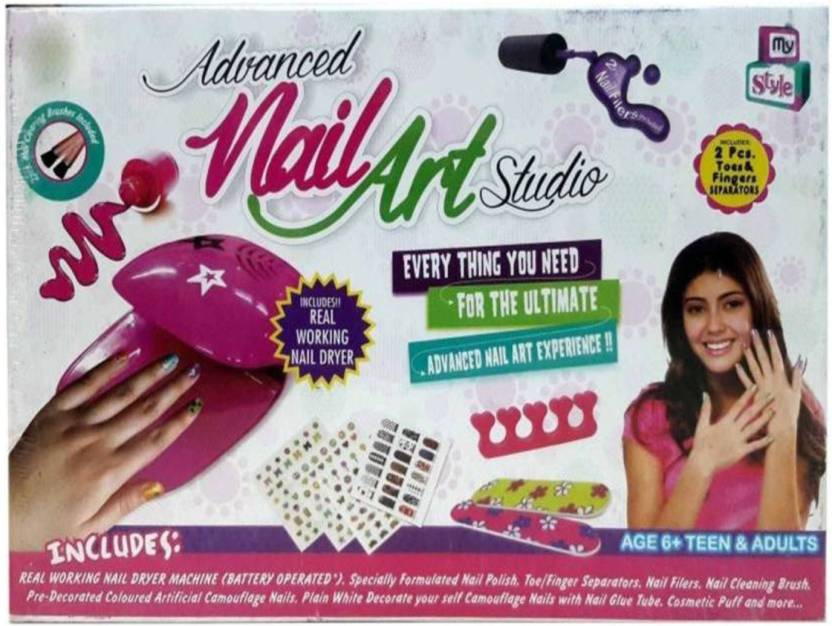 Shy Products Advance Nail Art Studio For Kids