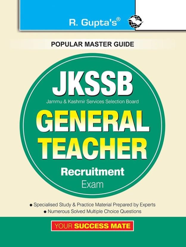 JKSSB General Teacher Recruitment Exam Guide