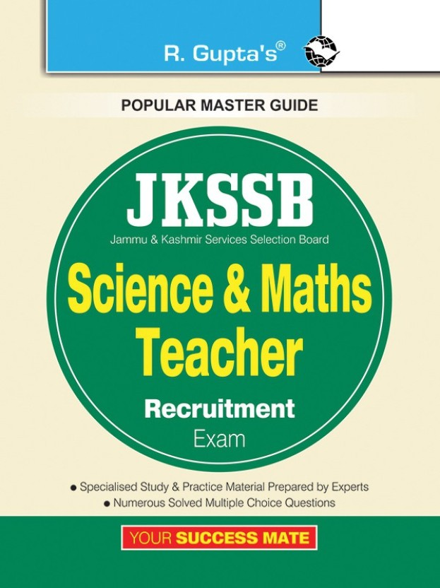 JKSSB Science & Maths Teacher Recruitment Exam Guide