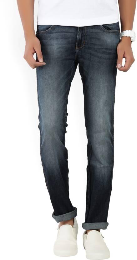 5137f8c6 Wrangler Marco Slim Men's Blue Jeans - Buy JSW-DARK STONE Wrangler ...