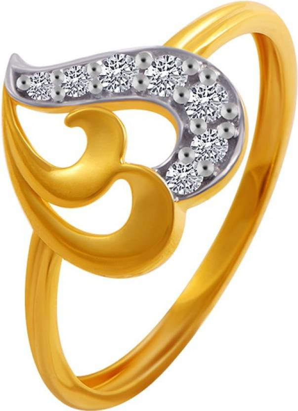 PC Chandra Jewellers Valentine\'s Day 14kt Yellow Gold ring | Buy ...