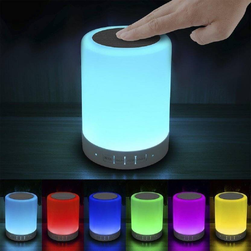 Hottech 6 in 1 Light Lamp Bluetooth Mobile/Tablet Speaker