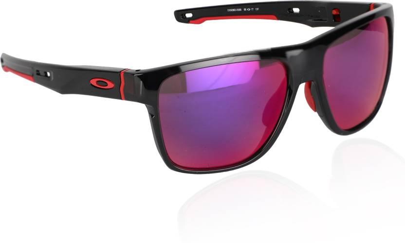 ba672a26262 Buy Oakley CROSSRANGE XL Sports Sunglass Red For Men Online   Best ...