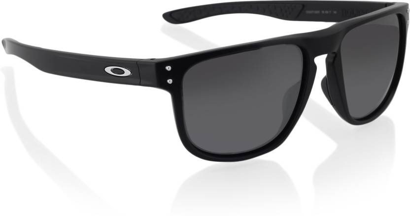 0b6a7a878f1 Buy Oakley HOLBROOK R Retro Square Sunglass Grey For Men Online ...