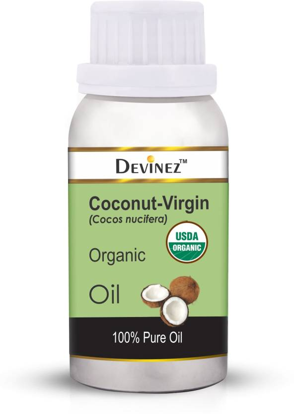 bd636f3bf95dc Devinez Extra Virgin Coconut Oil, 100ml - Cold-Pressed, 100% Pure &  Organic, Natural, Undiluted for Hair Color Corrector, Unrefined- Skin  Moisturizer, ...