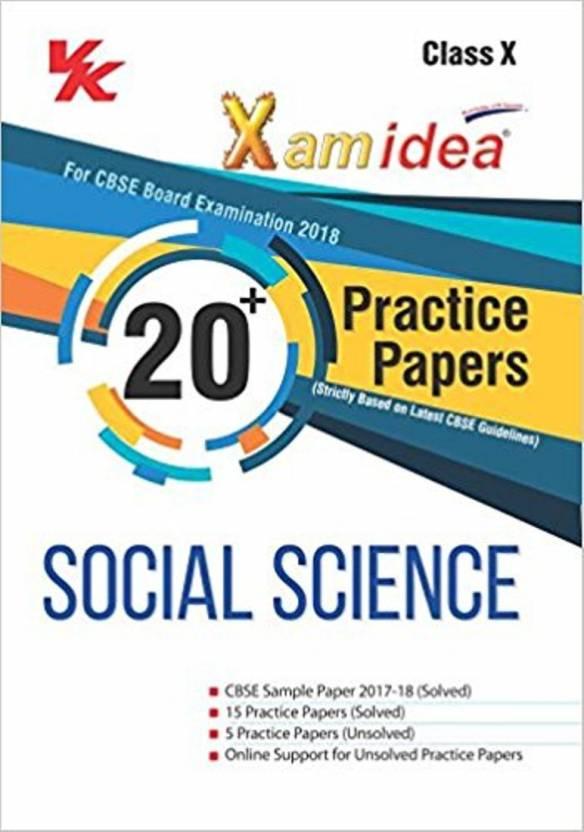 Xam idea cbse examination guide.