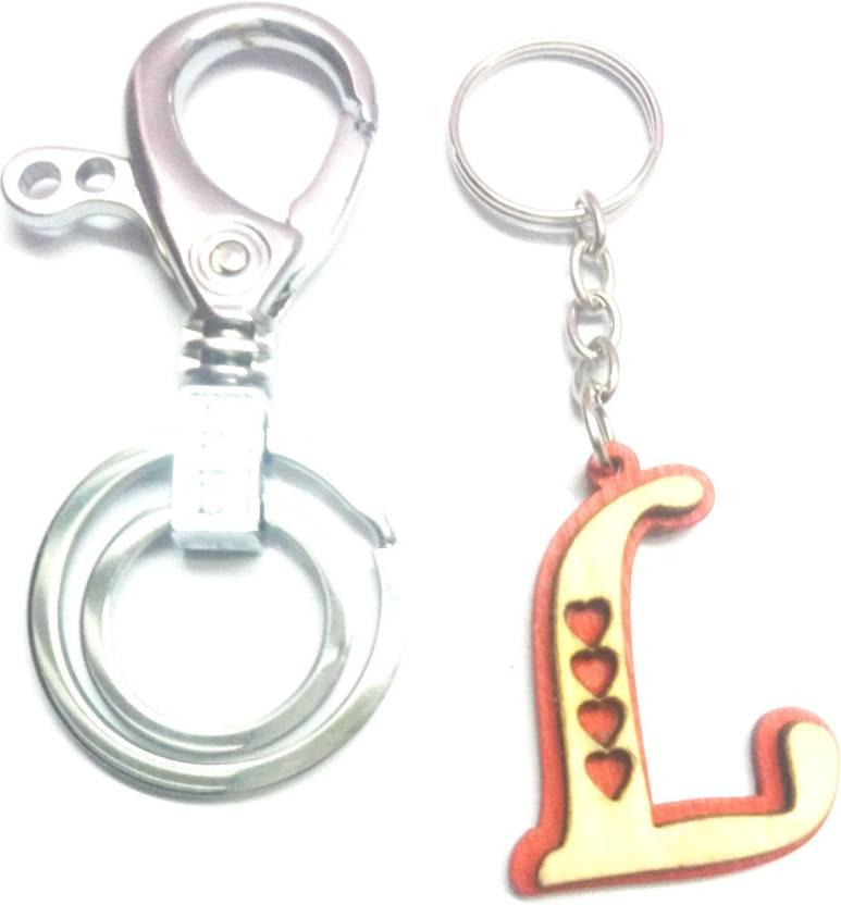 Prime Key Chain Alphabet Letter L Wood Key Chain Fancy Metal Key Ring Key  Chain Price in India - Buy Prime Key Chain Alphabet Letter L Wood Key Chain  Fancy ... 43858ef7f4