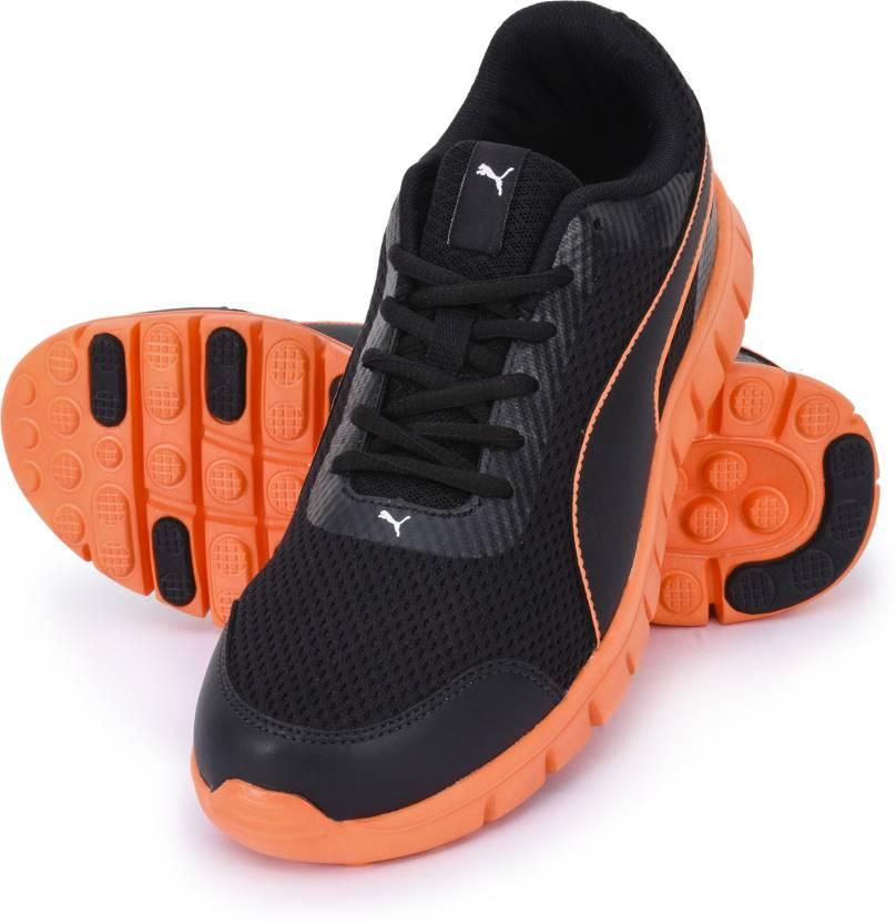 50d35da9b3c7 Puma Puma Blur V2 Walking Shoes For Men - Buy Black Shocking Orange ...