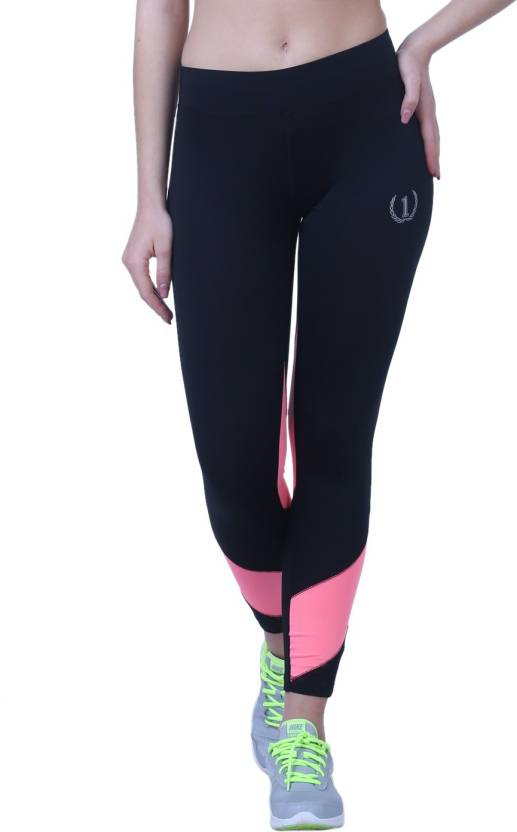 99c9621d46a Onesport Solid Women Black Tights - Buy Onesport Solid Women Black Tights  Online at Best Prices in India