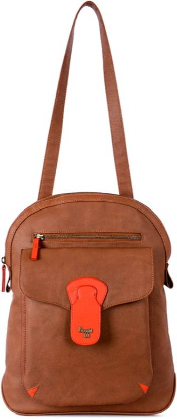 78b51590cf38 Baggit L RAYNE Y G SILICON TAN (TAN) M 5 L Backpack Tan - Price in ...
