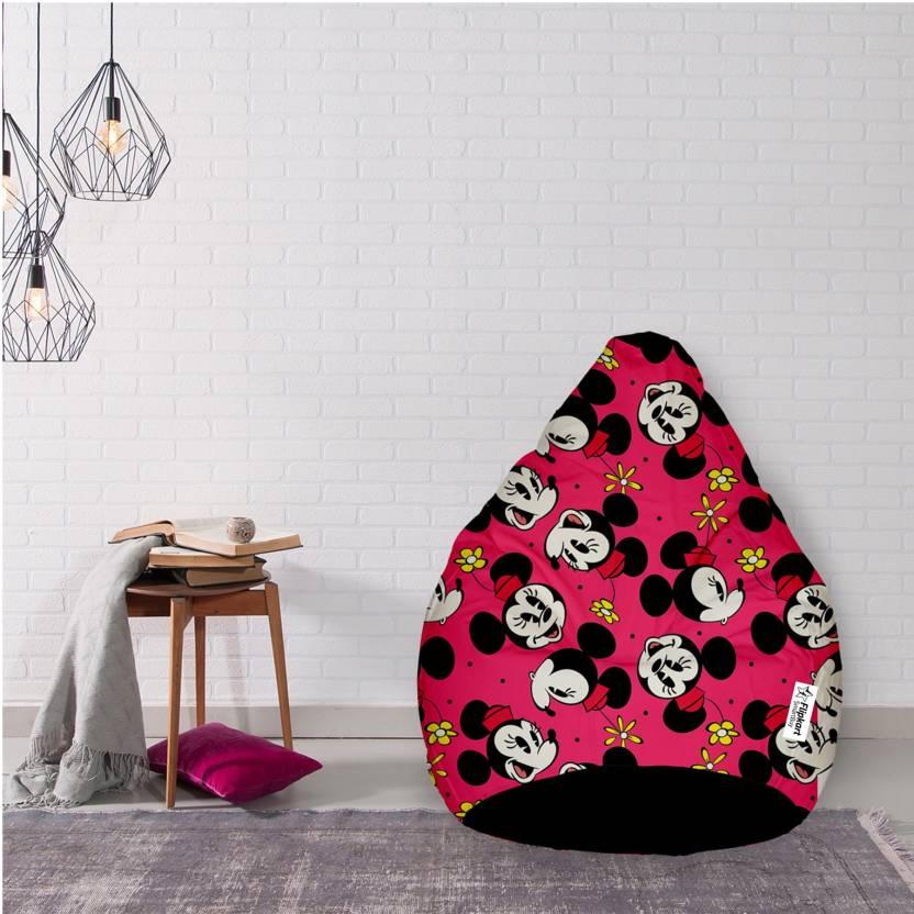 Flipkart Smartbuy Xxxl Minnie Mouse Bean Bag With Bean Filling