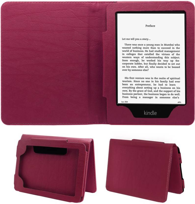 ACM Book Cover for Kindle Paperwhite 3rd Gen 2015 Pink