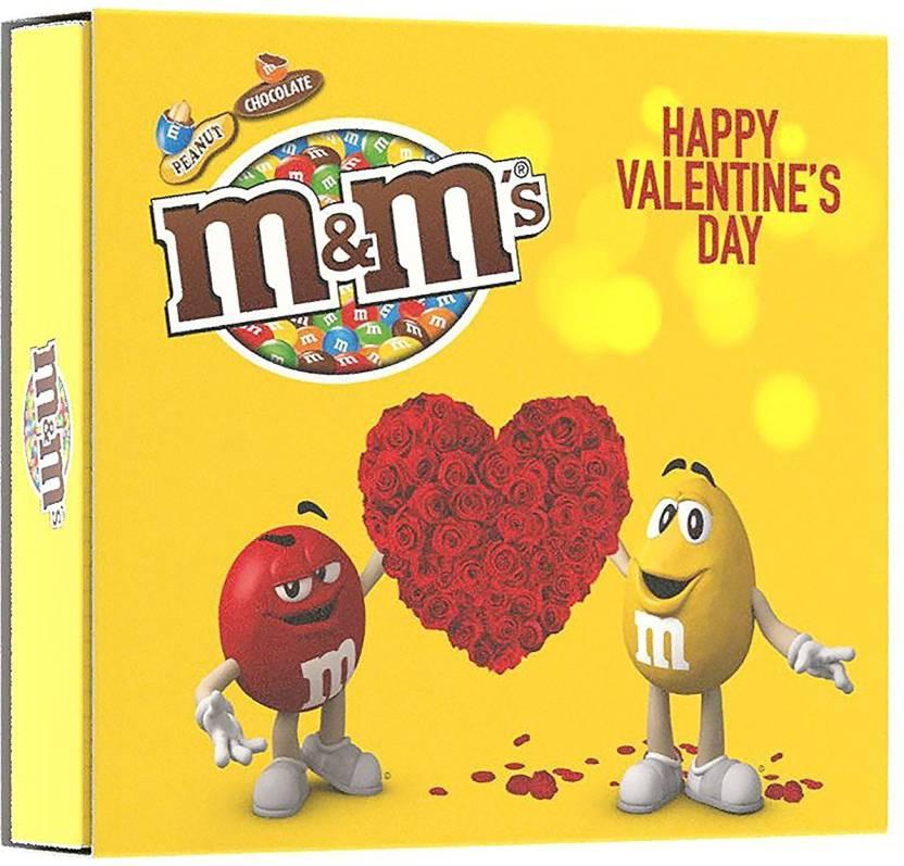 m&m's Valentine's Day Chocolate Gift Pack Truffles (135 g)