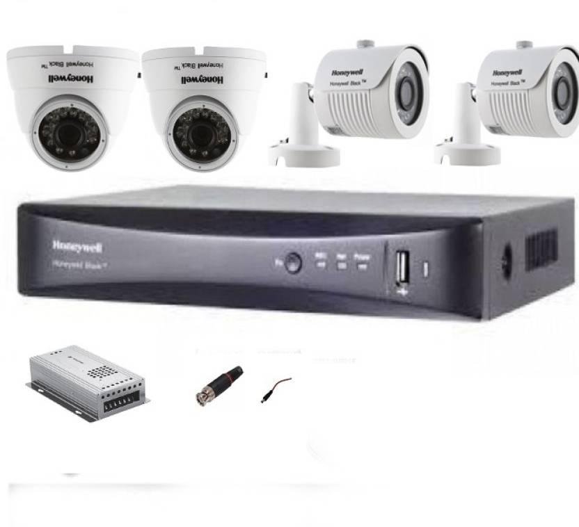 Honeywell 1MP HD COMBO KIT 2 DOME & 2 BULLET CAMERA ,DVR Home