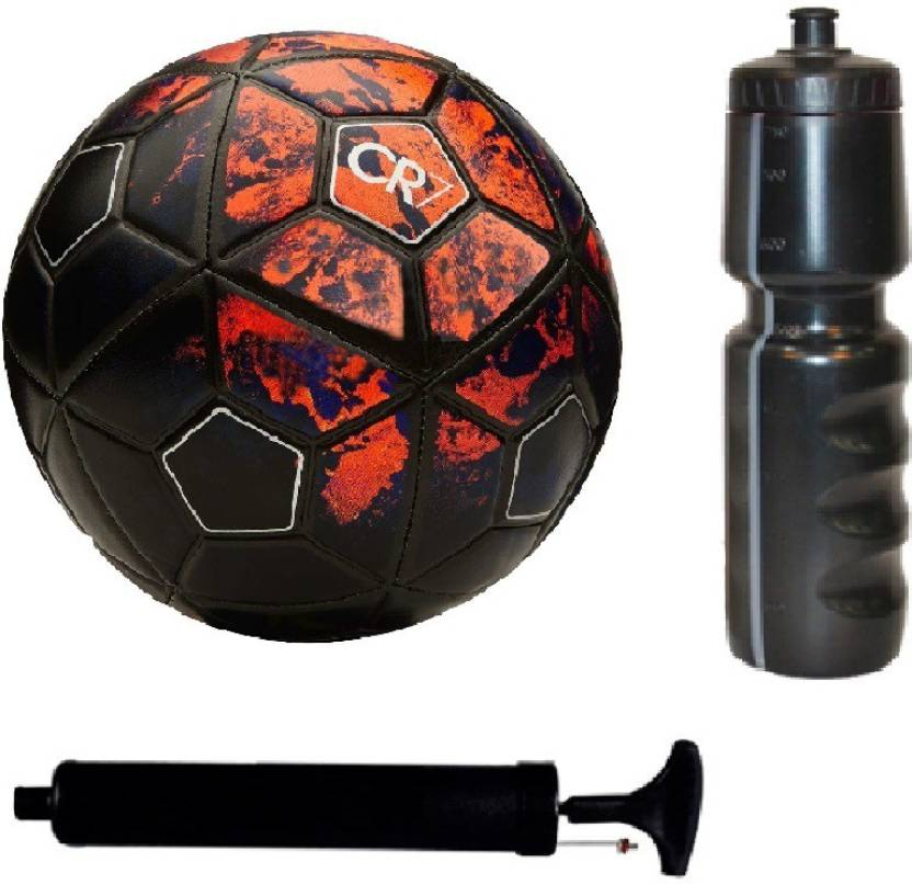 c5880ae9d AkshMall Kit of CR7 Red Black Football (Size-5) with Air Pump   Sipper Football  Kit - Buy AkshMall Kit of CR7 Red Black Football (Size-5) with Air Pump ...
