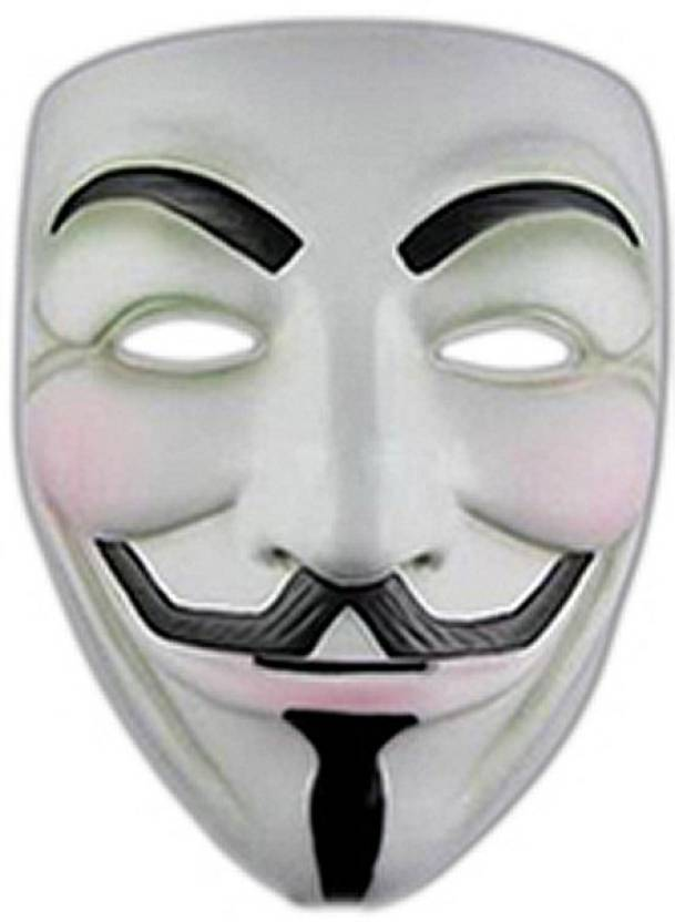 Fancy Steps V For Vendetta Comic Face Anonymous Guy Fawkes Party