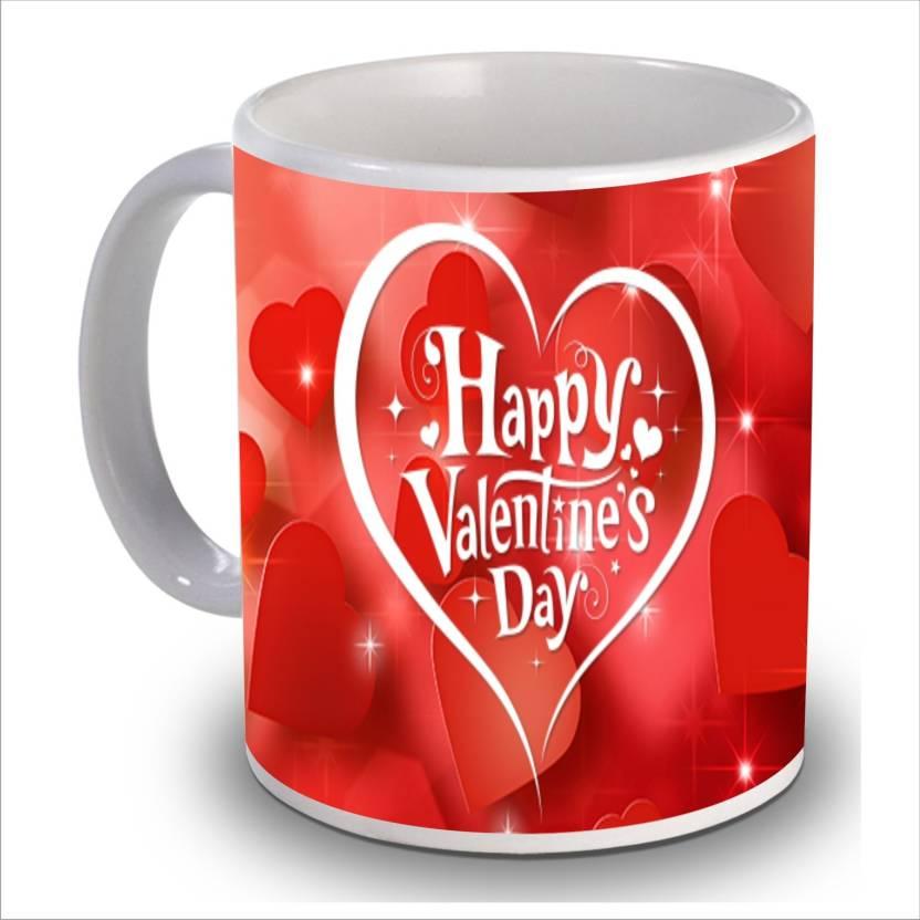 new star light india happy valentine day 38 printed coffee ceramic
