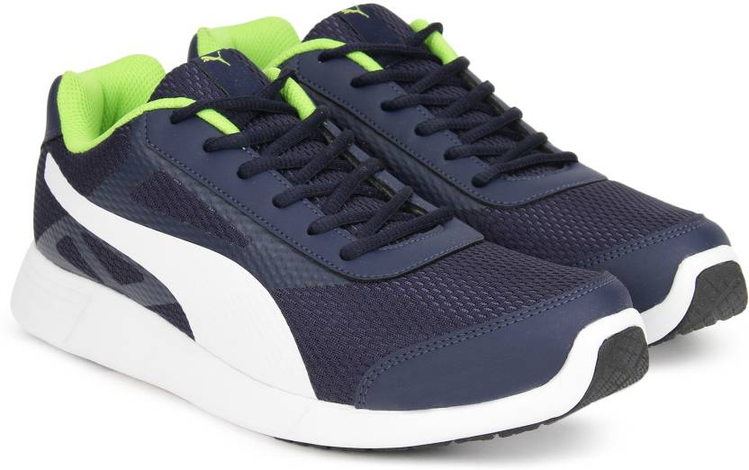 be1f0e5f46355a Puma Magneto IDP Running Shoes For Men - Buy Peacoat-Limepunch Color ...