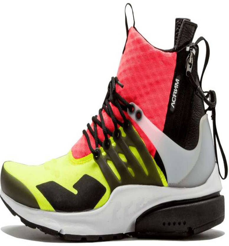 AIR PRESTO Acronym x LAB Air Presto Mid Hot Running Shoes ...
