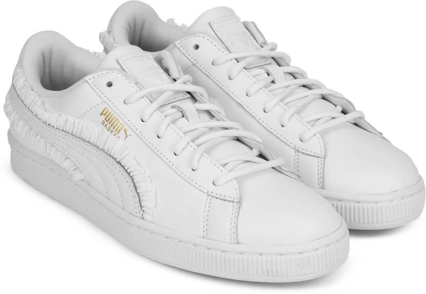 Puma Basket Classic Frill Wn s Sneakers For Women - Buy Puma Black ... f2a35db9c