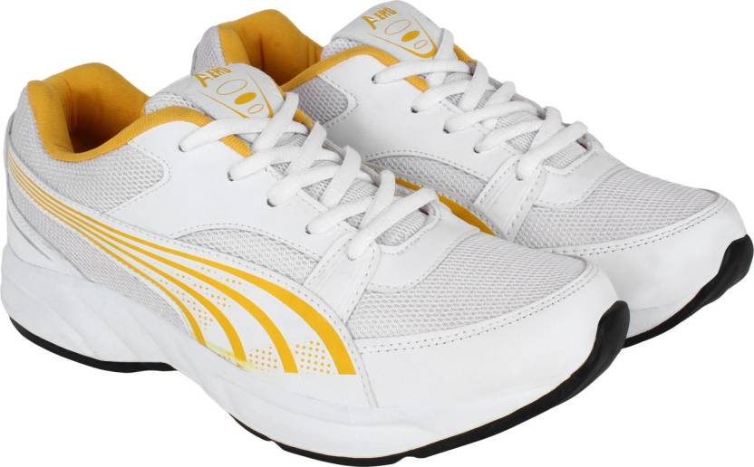 3b0a2b25a78a2e Aero AMG Performance Running Shoes For Men - Buy WHITE