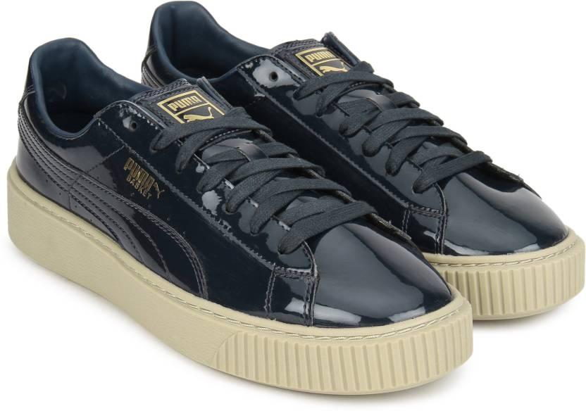 0596bdf844a Puma Basket Platform Patent Wn s Sneakers For Women - Buy Puma Black ...