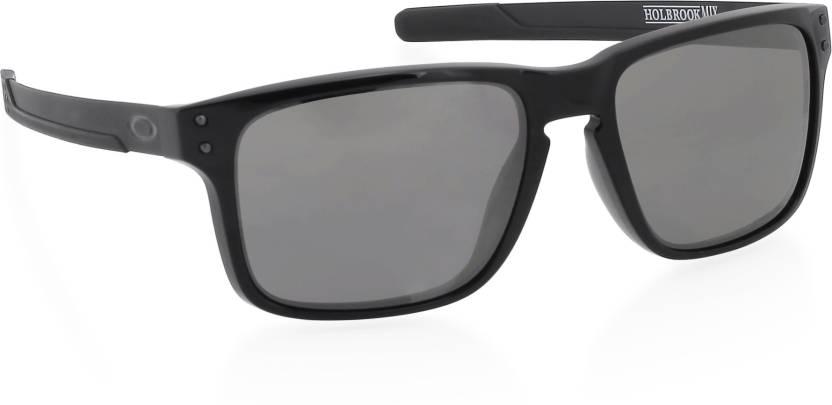 256672bcdf2 Buy Oakley HOLBROOK MIX Wayfarer Sunglass Grey For Men Online   Best ...