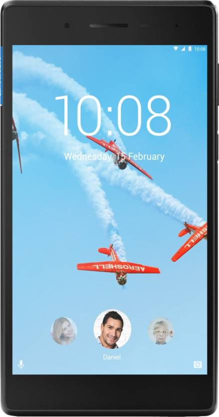 Lenovo Tab 7 Essential 8  GB 7 inch with Wi Fi Only Tablet  Slate black  Lenovo Tablets without Call Facility