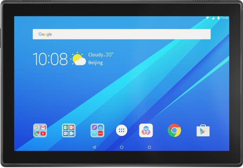 Lenovo Tab 4 10 16  GB 10.1 inch with Wi Fi+4G Tablet  Slate Black  Lenovo Tablets without Call Facility