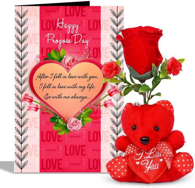 Alwaysgift Happy Propose Day Valentines Day Greeting Card With 1