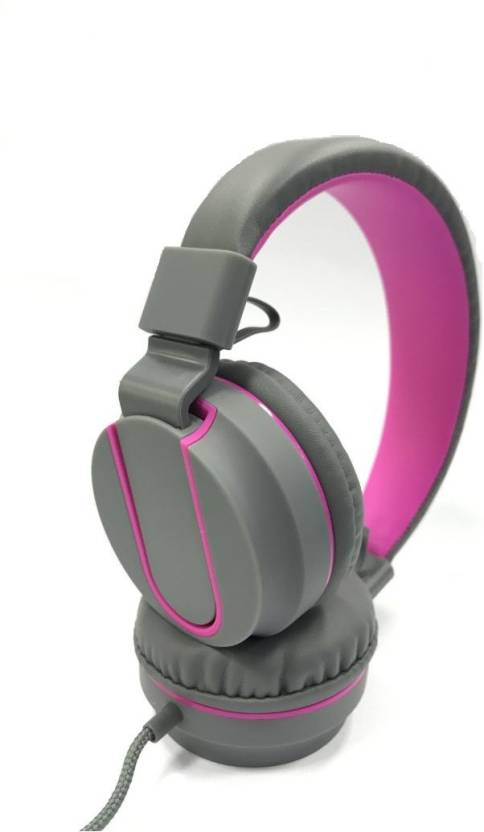 Syska POP WITH STEREO HEADPHONE Wired Headset with Mic