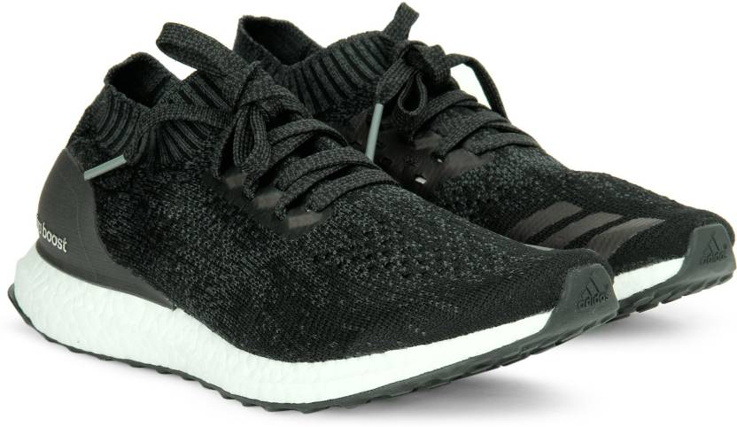 check out d11d3 6afef ADIDAS ULTRABOOST UNCAGED Running Shoes For Men (Black, Grey)
