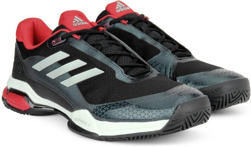 cheaper fa68d 10edd ADIDAS BARRICADE CLUB Tennis Shoes For Men (Multicolor)