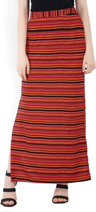 3f761470cc Global Desi Geometric Print Women's Tube Multicolor Skirt - Buy ...