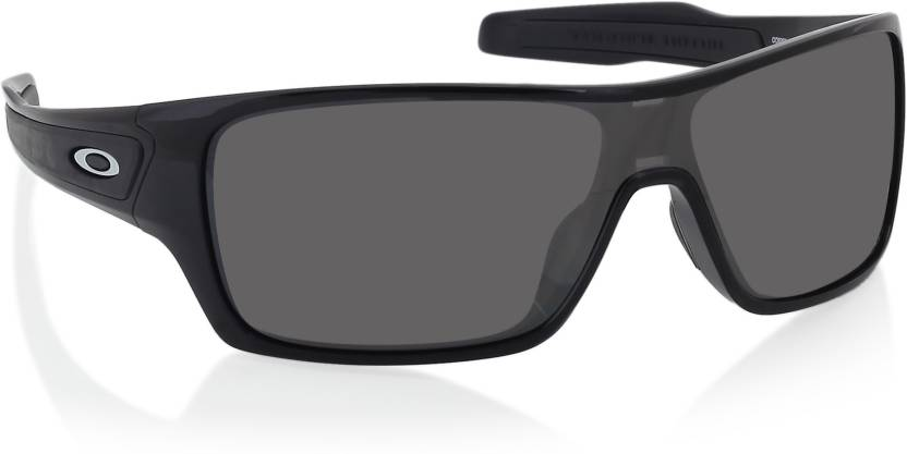 5c707a6706 Buy Oakley TURBINE ROTOR Wrap-around Sunglass Grey For Men Online ...
