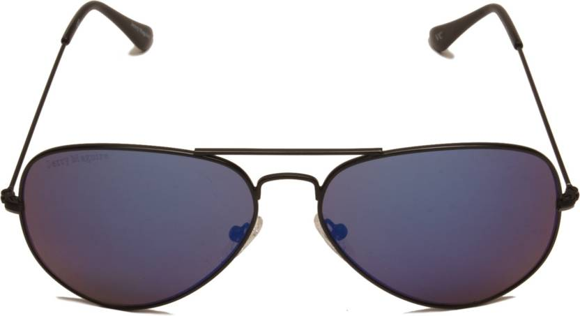 0fc9b87a08bd Buy Jerry Maguire Aviator Sunglasses Blue For Men & Women Online ...