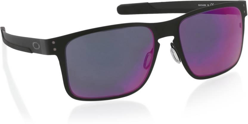 06b8249d13 Buy Oakley HOLBROOK METAL Wayfarer Sunglass Red For Men Online ...